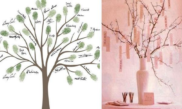 Matrimonio Tema Albero : Matrimonio a tema albero