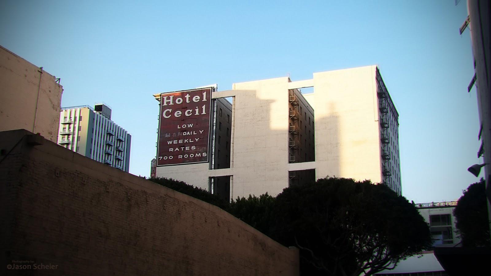 Phantom los angeles hotel cecil downtown los angeles for Haunted hotels in los angeles ca