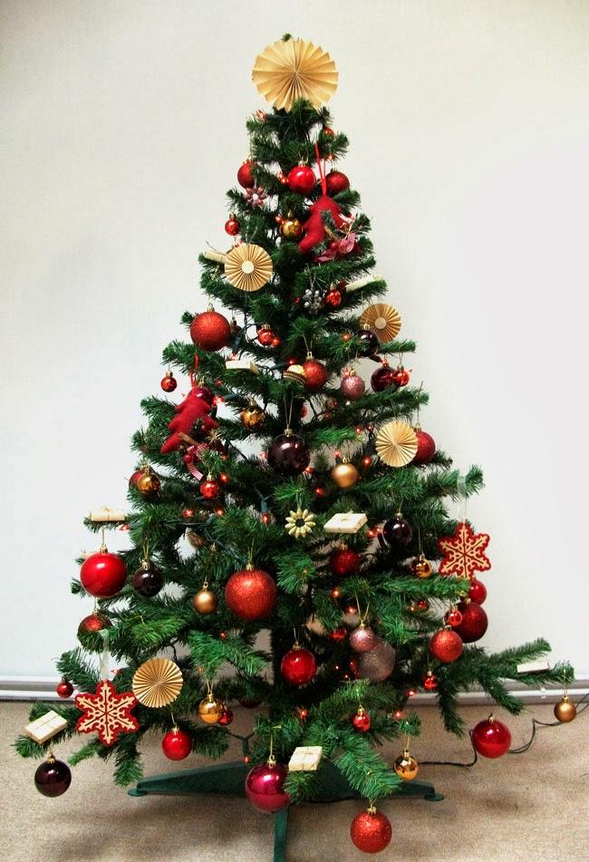 christmas tree, christmas decorations