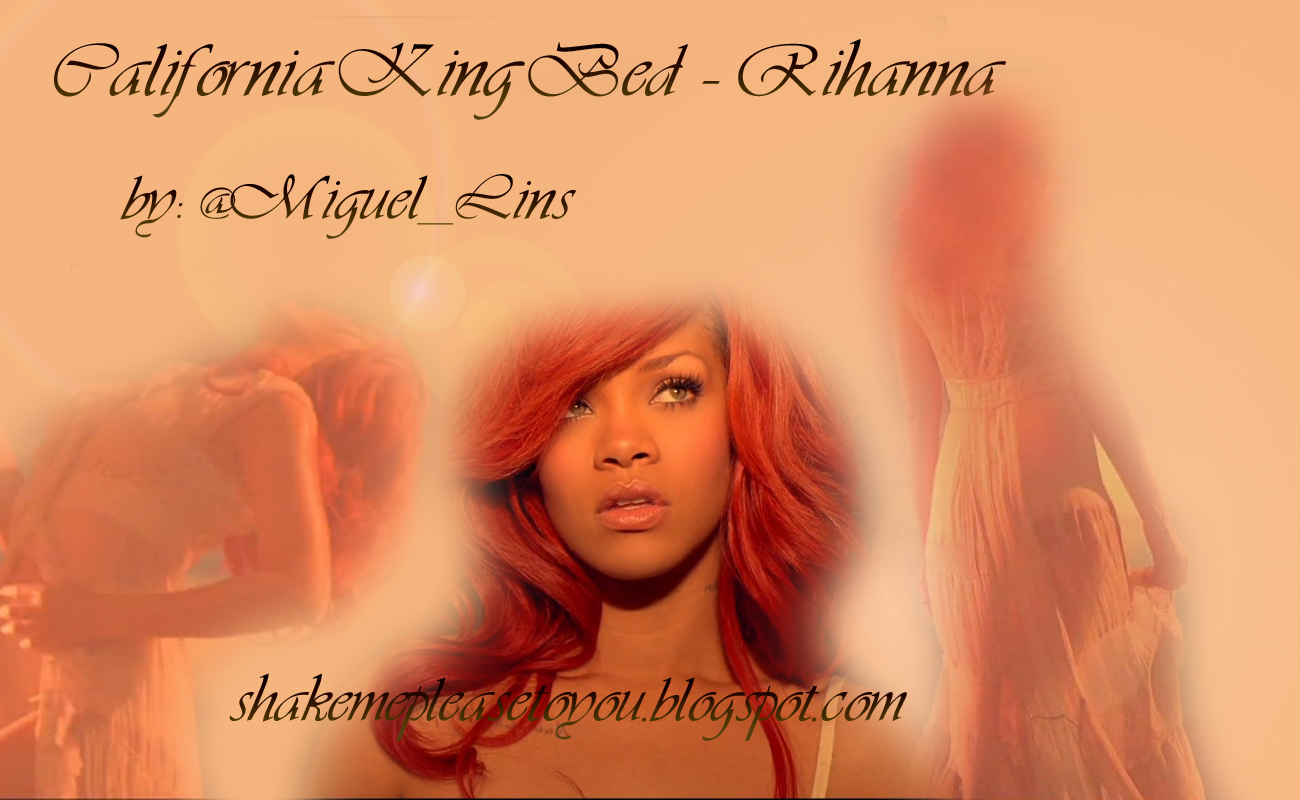 Rihanna King Bed Download