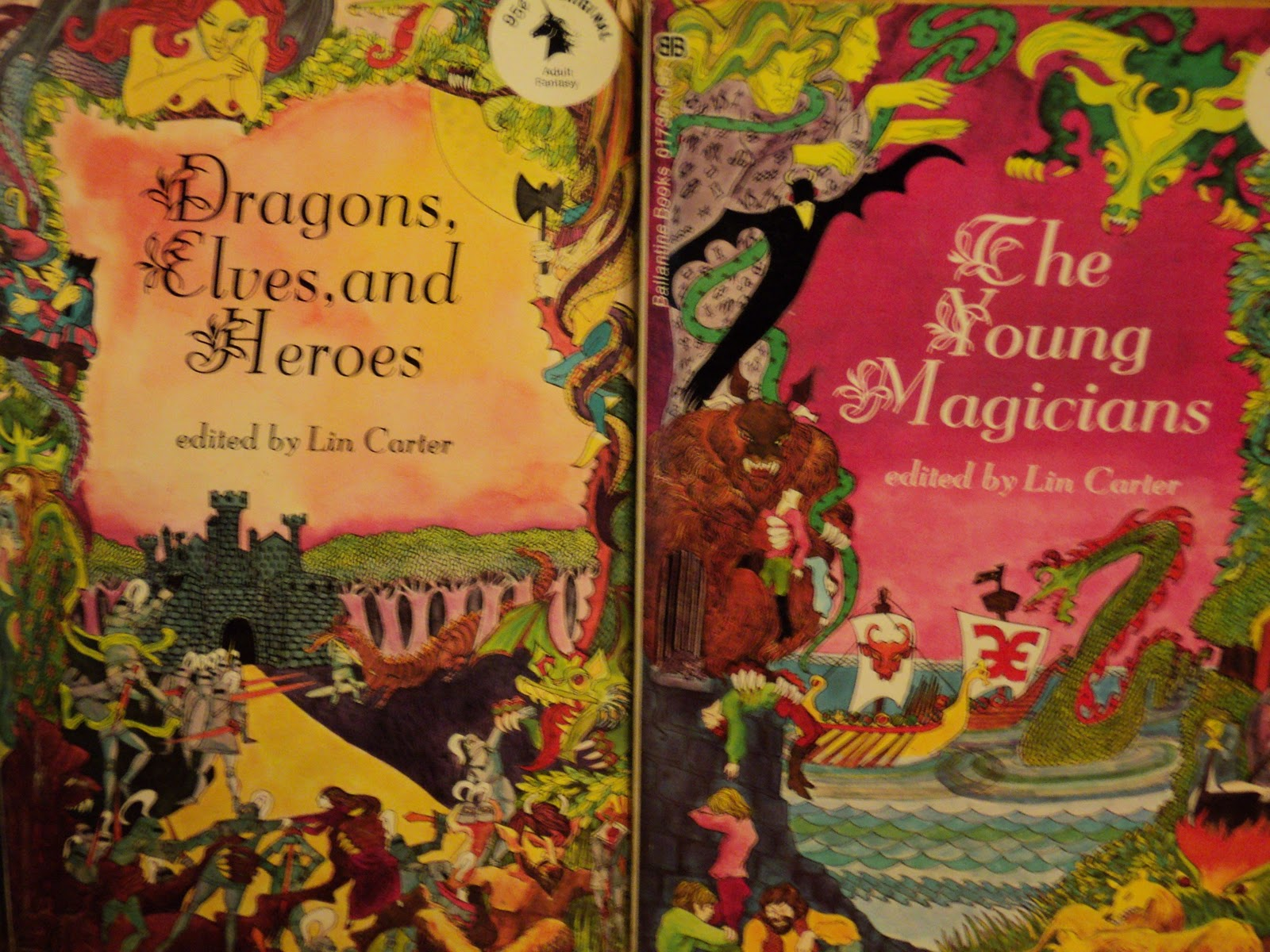 Ballantine Adult Fantasy covers, Part I