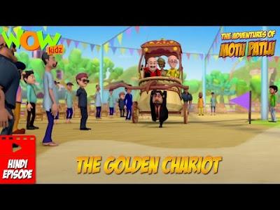 Motu Patlu Cartoon Download - The Golden Chariot Hindi Episode
