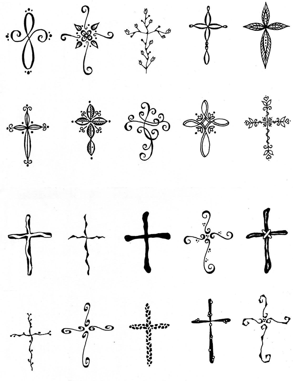 embound cross tattoos