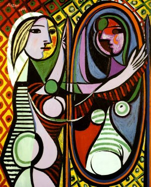 Pablo Picasso Girl Before Mirror
