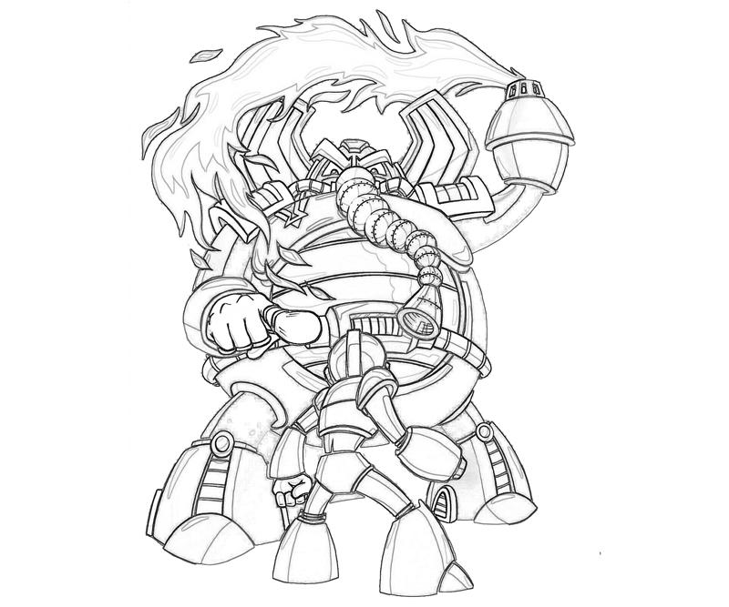 flame-mammoth-fight-coloring-pages