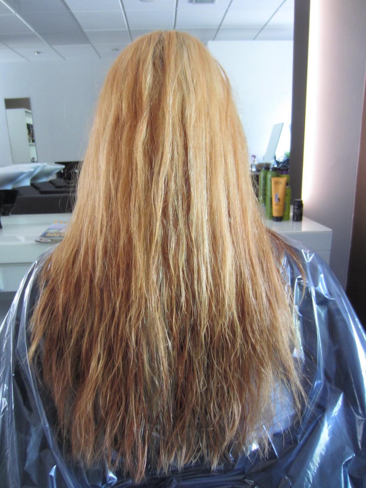 Kaputte blondierte haare farben