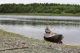 Река Цильма - левый приток Печоры. Ненецкий автономный округ. Природа НАО.
