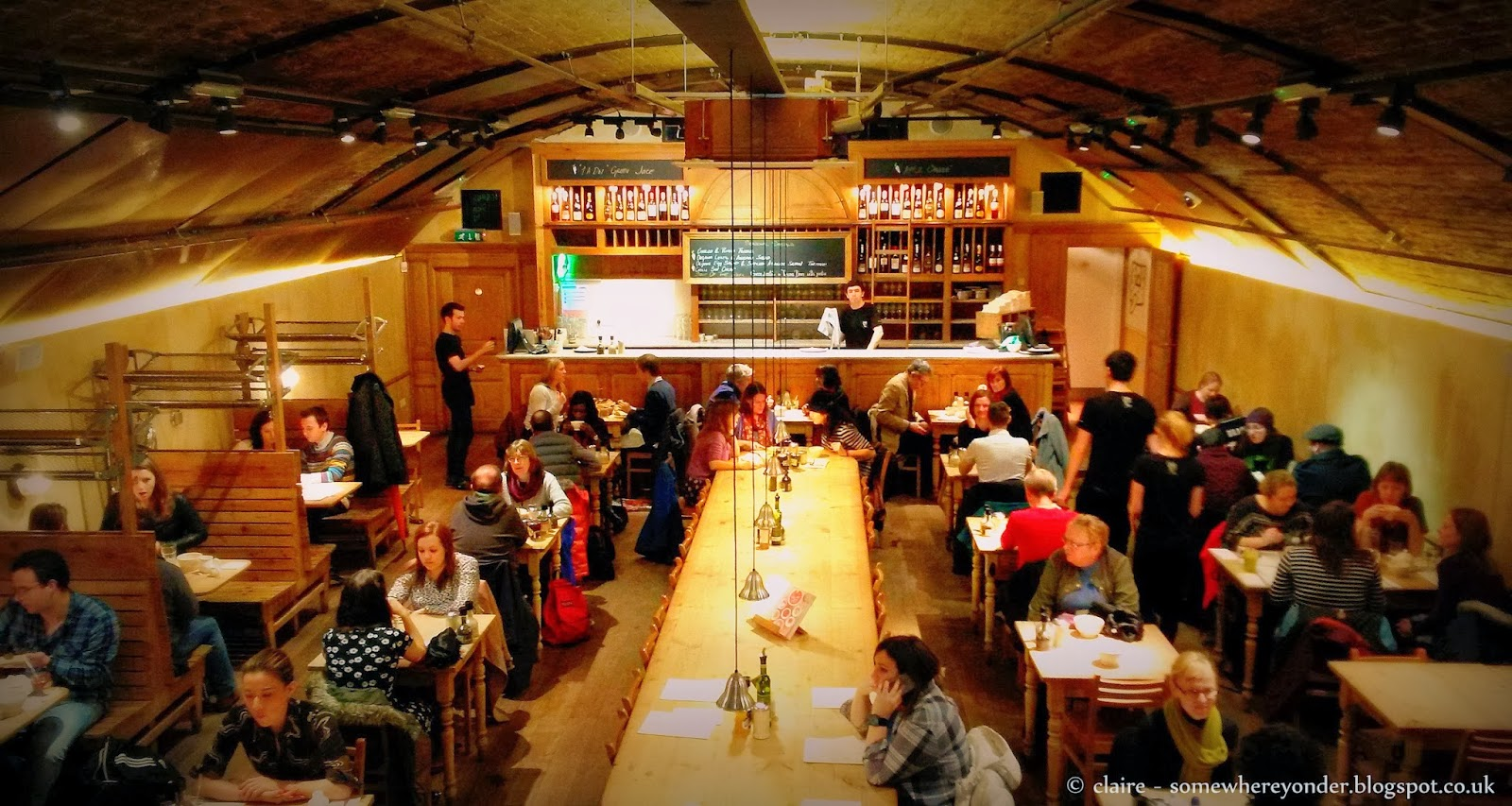 Inside Le Pain Quotidien - Royal Festival Hall, London