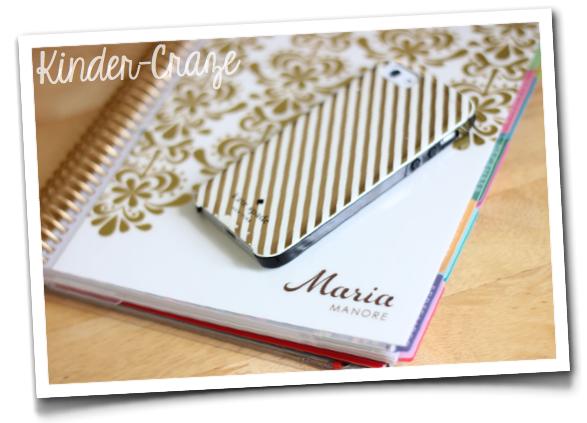 Erin Condren Life Planner … love the gold!