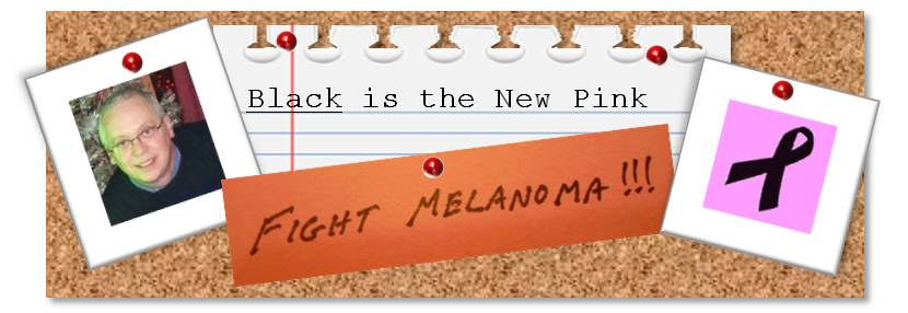 Black is the New Pink - Fight Melanoma