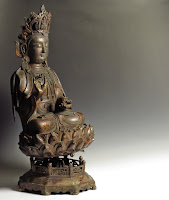 17th C. Ming Dynasty Bronze Buddha