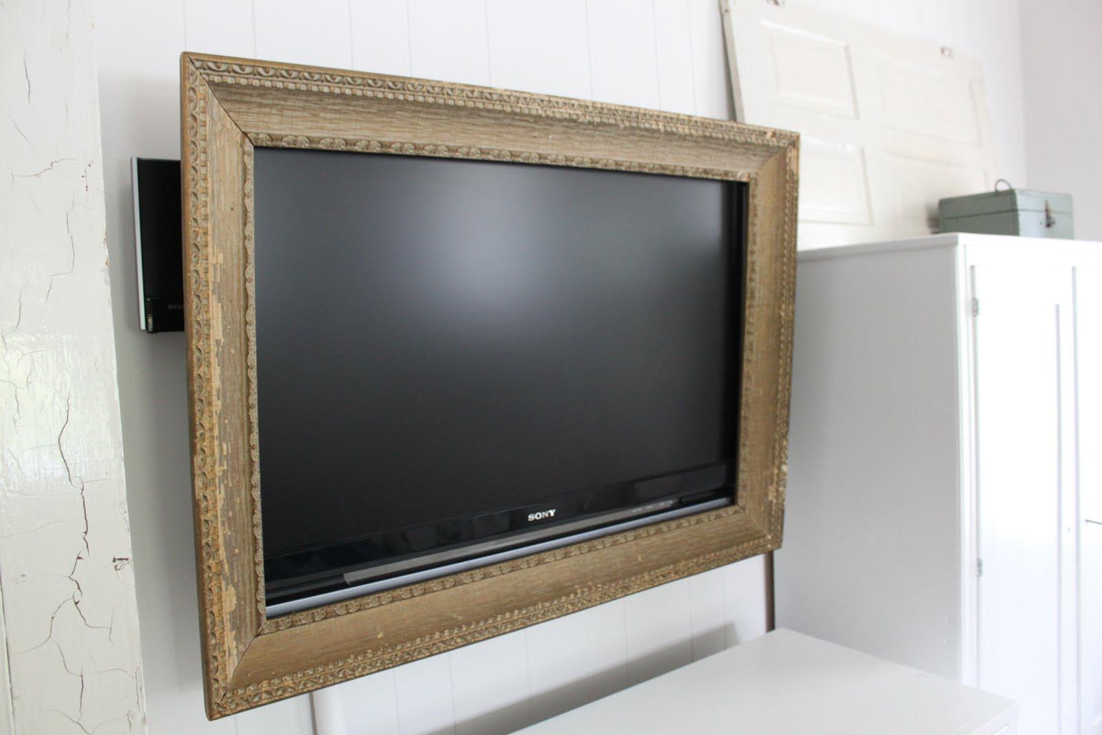 Sarah and DrewB: framed TV