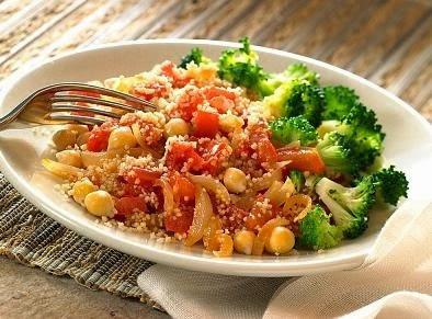 Cocido de garbanzos con verduras
