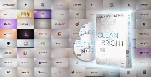 VideoHive Quick Logo Sting Pack 01: Clean & Bright