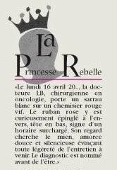 Le Cancer Du Sein De La Princesse Rebelle Octobre 2007