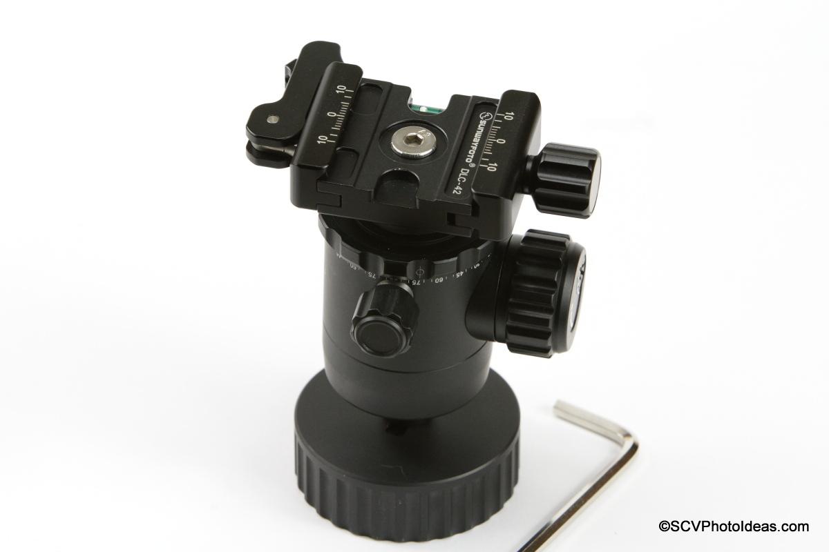 Inverted Sunwayfoto FB-36 BH w/ SCV-FK Flip kit - complete