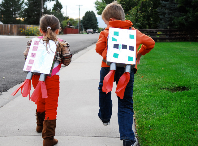 Kids Jet Pack Costume
