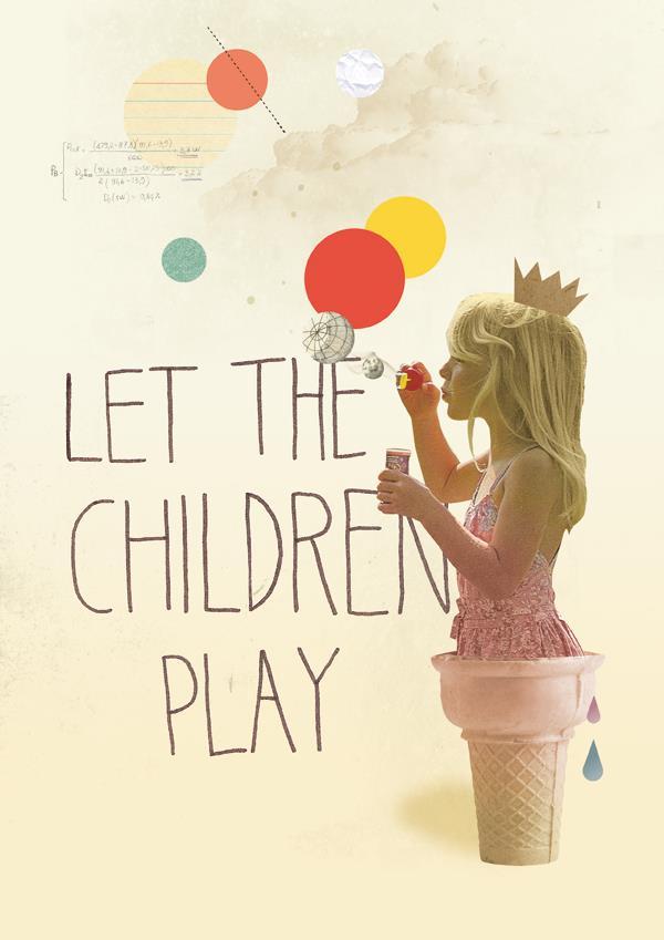 Deja que los niños jueguen