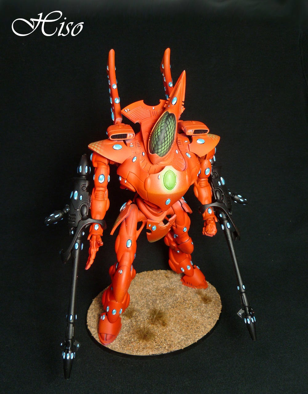Wraighknight Eldar Orange