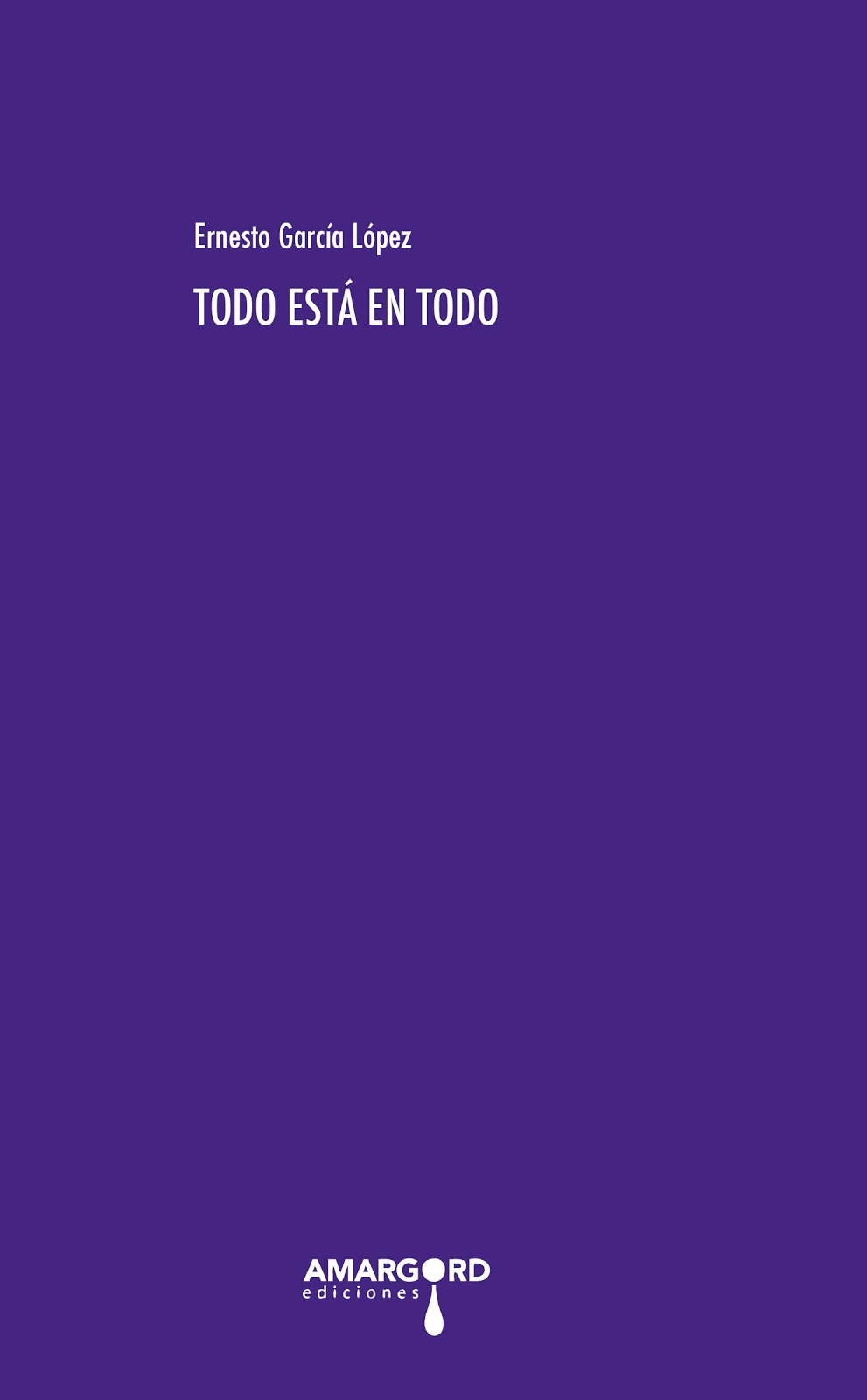 El último libro publicado