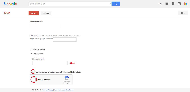 Adult site google