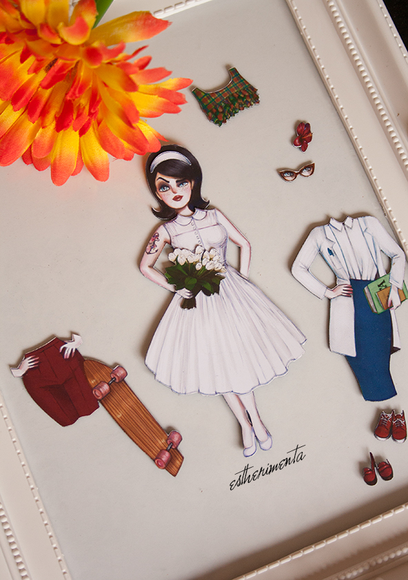 magnetic paper doll estherimenta