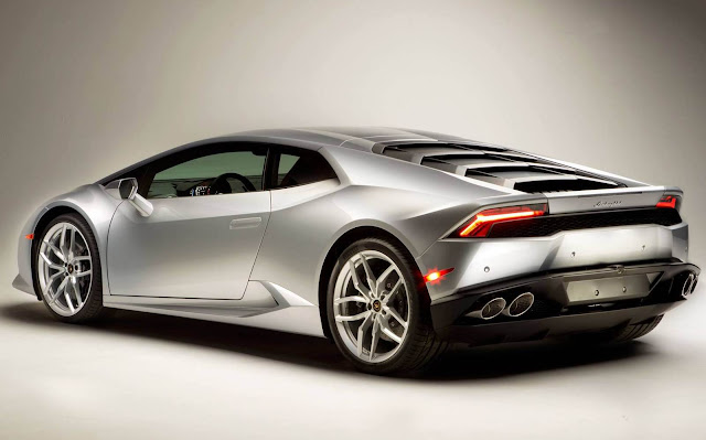 Lamborghini Huracan - traseira