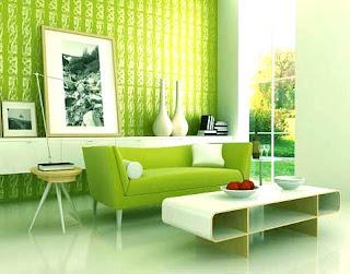 desain Interior hijau