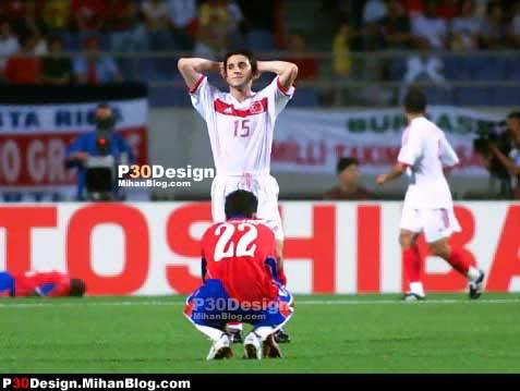 Foto-Foto Gokil Pemain Sepak Bola