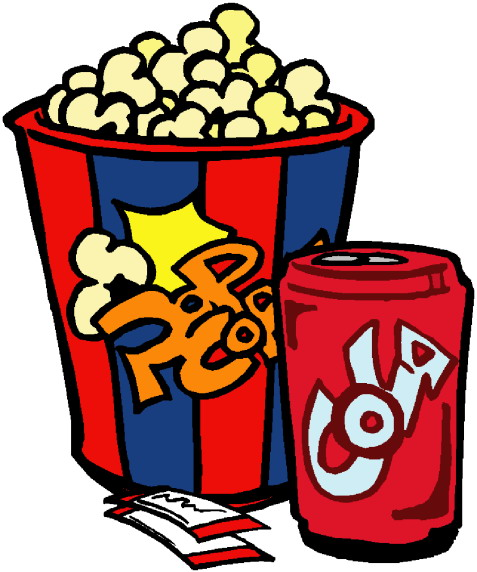 All Cliparts: Cinema Clipart Gallery