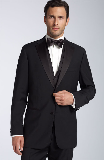 men's prom outfit, black suit, formal attires