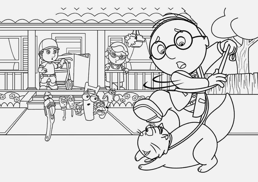 Handy Manny Coloring Pages | Coloring Pages Gallery