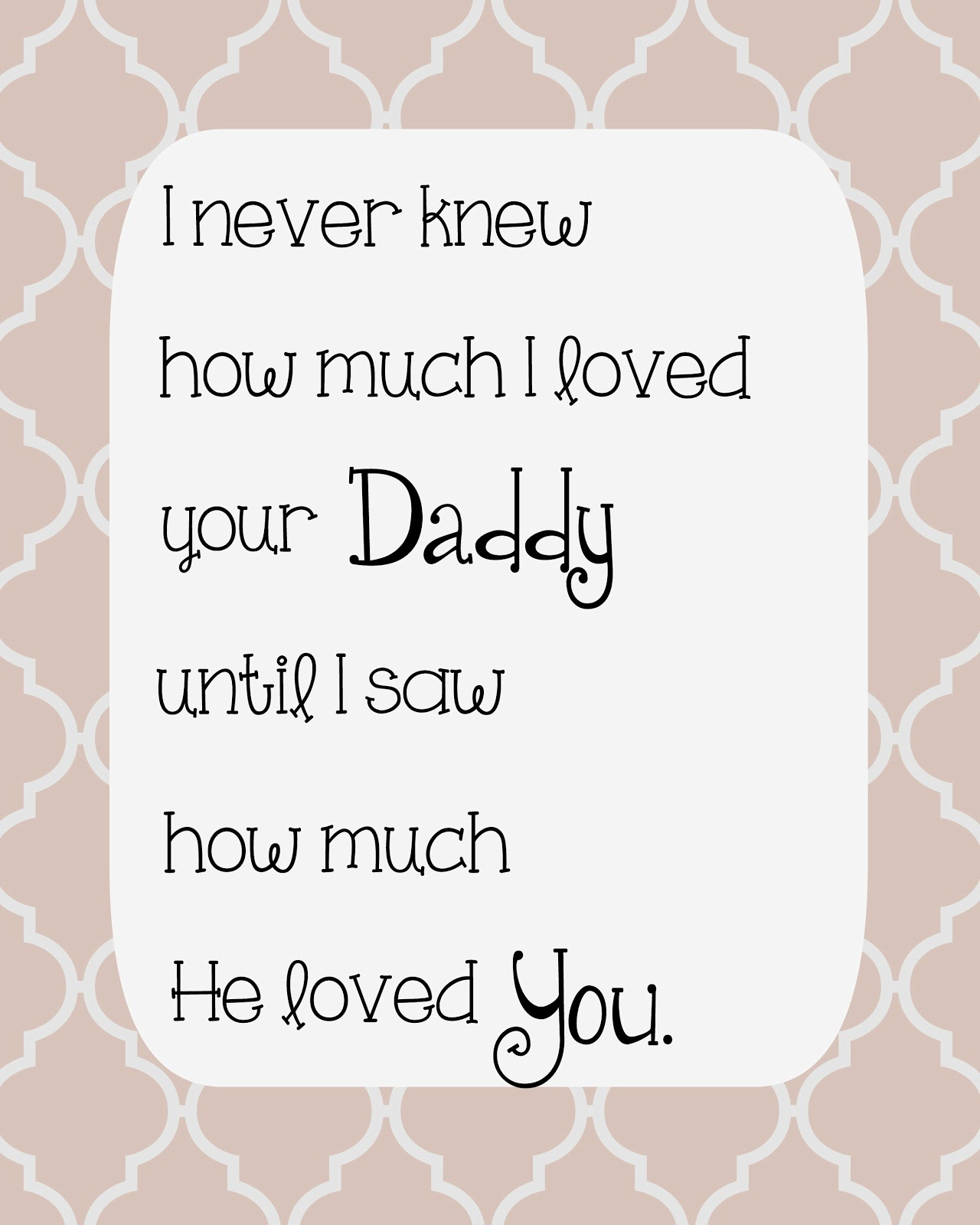loving husband and father quotes