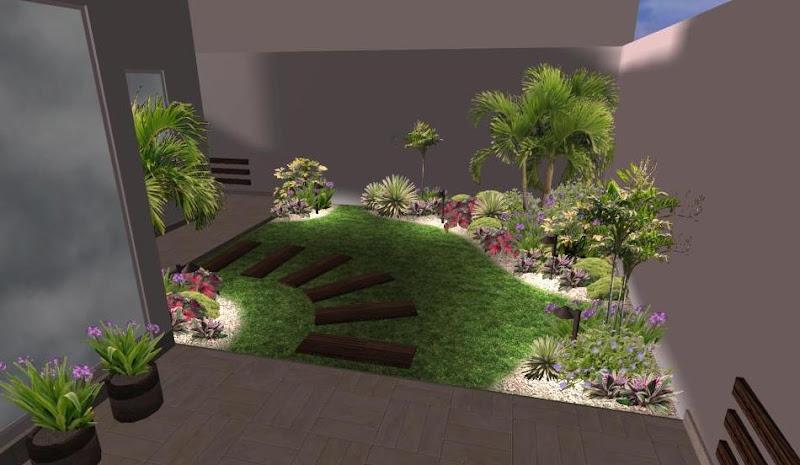 Arreglos adornos y decoraciones para jardines ideas dise os 3d y 2d zen ambient - Iluminacion jardines pequenos ...