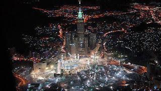 Keindahan Mekkah Dlihat Dari Angkasa