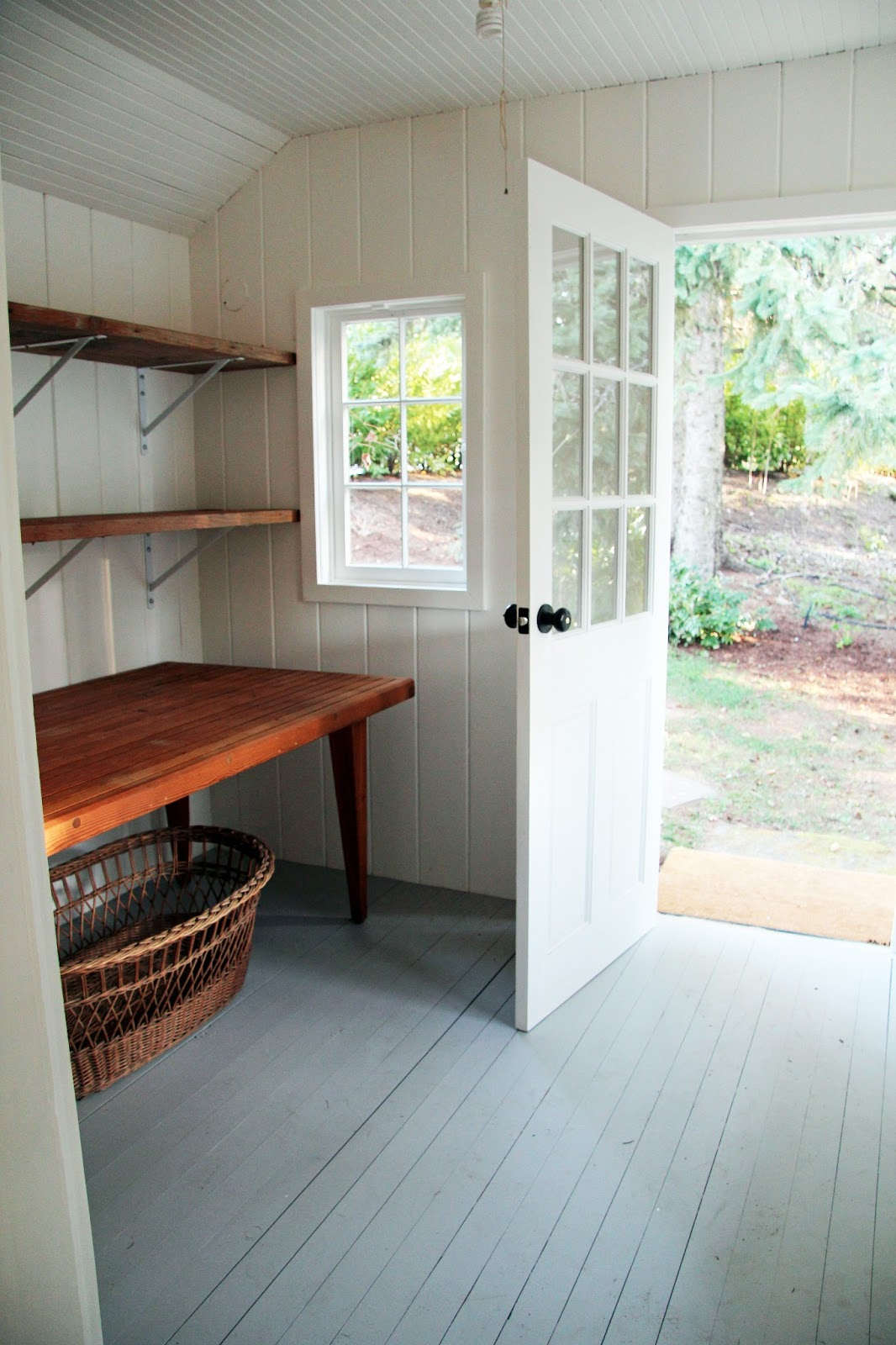 1600 #683C2B In The Fields : Sauna In Disrepair Turned Fitness Studio Final Look save image Simpson Fir Doors 41971066