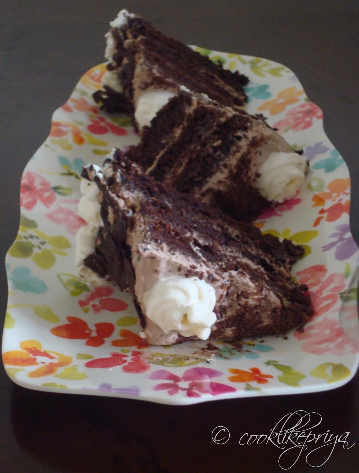 Cake Images For Priya : Cook like Priya: Chocolate Forest Cake ~ Happy Birthday ...