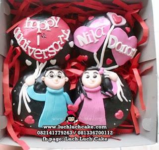 Cupcake 2d Romantis Daerah Surabaya - Sidoarjo