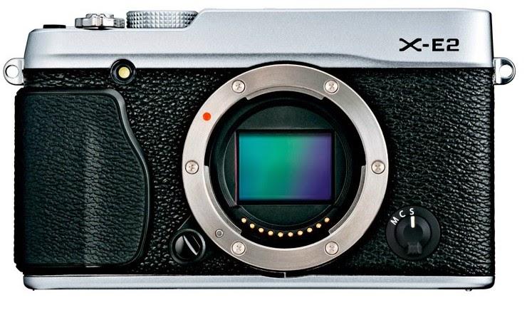 Fujifilm X-E2 Gümüş Fotoğraf Makinesi Ürün Fotoğrafı