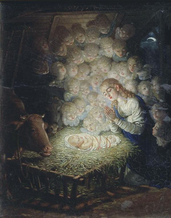 Картинки по запросу рождество в живописи русских художников