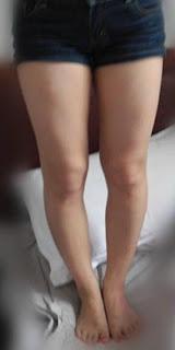 bentuk kaki cewek
