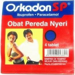 OSKADON SP (Paracetamol, Ibuprofen)