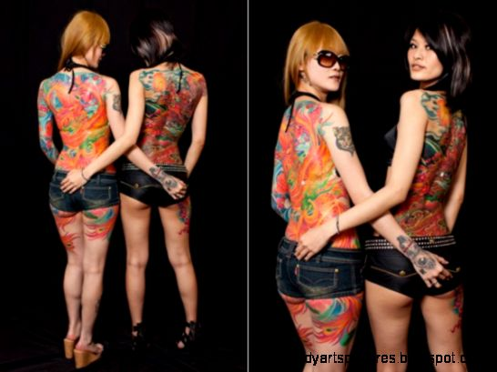 Body of Art in Sydney Tattoo and Body Art Expo 2011 Photos and