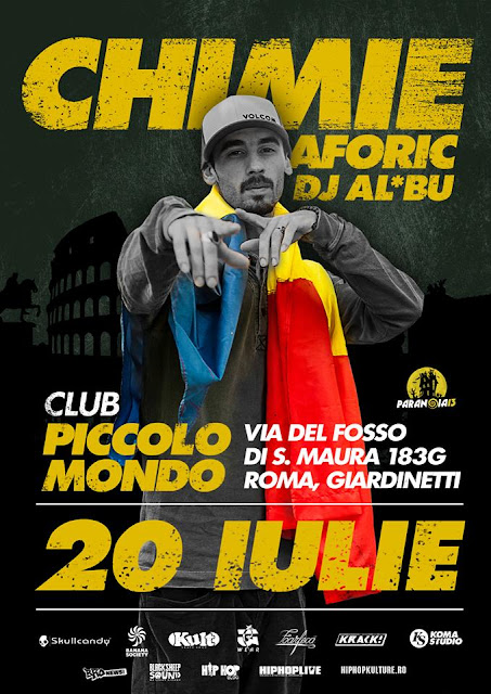 Concert: Chimie @ Club Piccolo Mondo (Roma, Italia) – 20.07.2013
