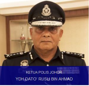 Ketua Polis Johor Yang Baru Datuk Rusli Ahmad