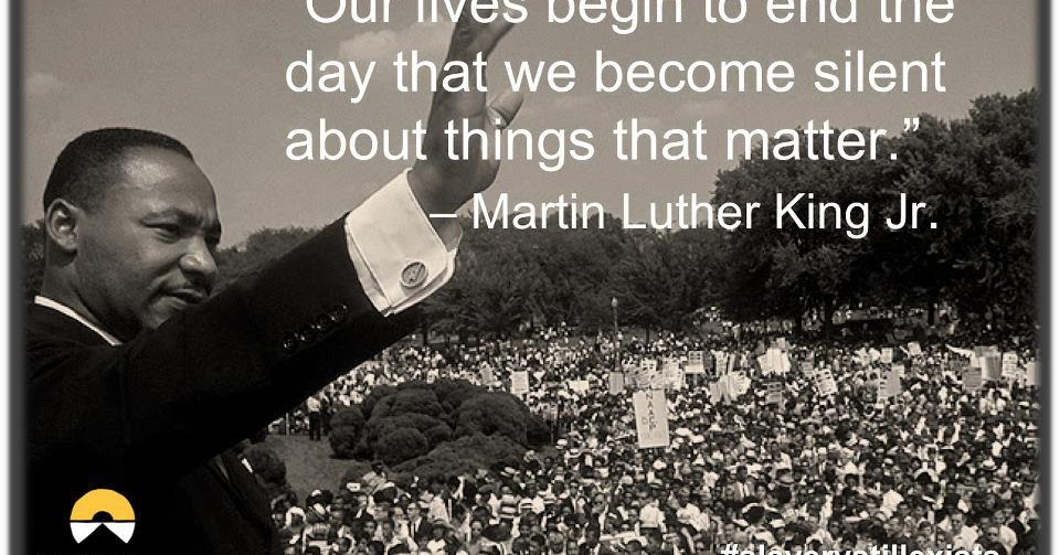 quote of the day- martin luther king jr