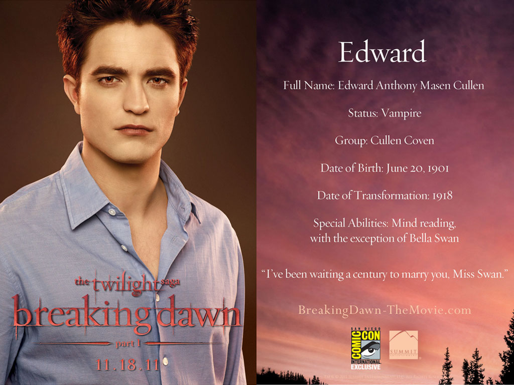 Edward Cullen Edwardccpc