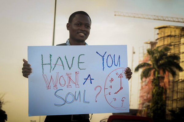 HAVE YOU WON A SOUL TODAY?