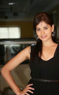 Actress Supriya Sailaja Latest  Pictures in Black Dress at BIG FM  0036.jpg