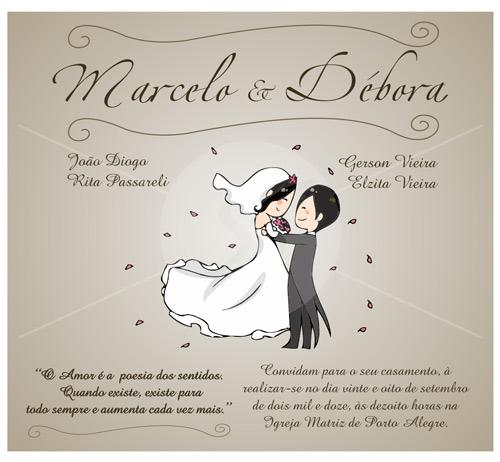 Convites De Casamento Criativos Gráfica Expanssiva
